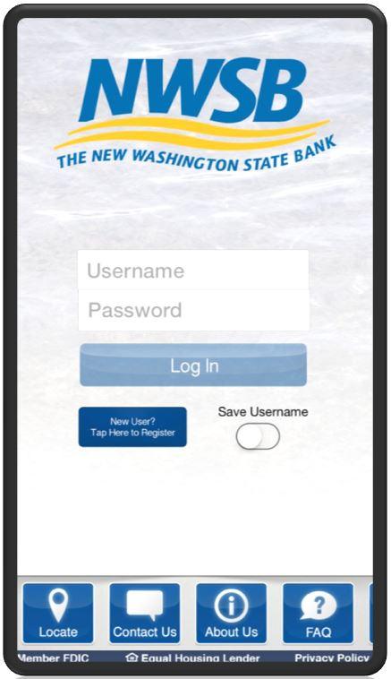The New Washington State Bank - Mobile - Mobile App  Mobile Banking