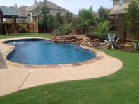 Austin Pool Builder Portfolio   Custom Free Form Pools