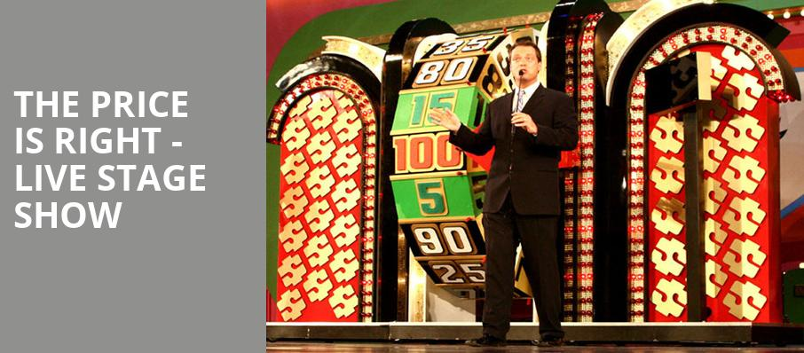 The Price Is Right - Live Stage Show - Count Basie Theatre, Red Bank