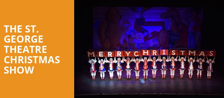The St George Theatre Christmas Show - St George Theatre, Staten