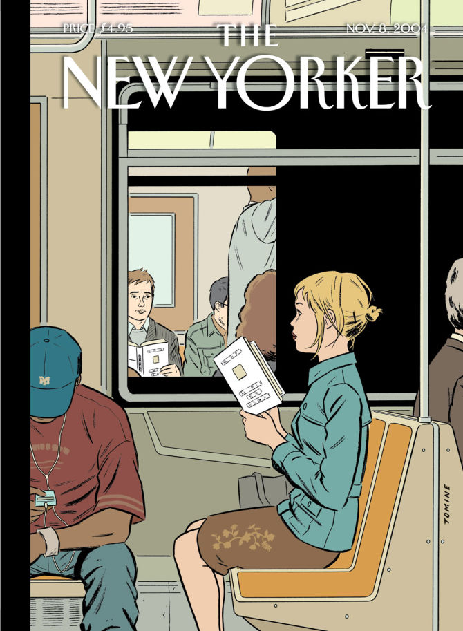 """School Of Visual Arts Sva New York City Fine Arts And Cover Story Adrian Tomine's """"memorial Plaza"""" The New Yorker"""