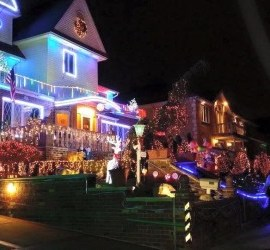 Luci di Natale a Dyker Heights