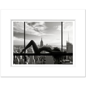 CSB010-Naked-Nude-City-Midtown-Manhattan-NYC-Art-Print-BW-MW1620