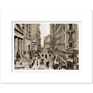 WSSV011-Wall-Street-Financial-District-NYSE-Vintage-Art-Print-Sepia-NYC-1911-MW1620