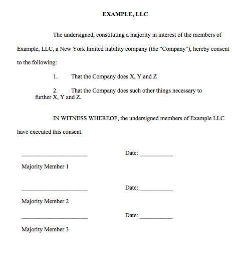 sample operating agreement llc new york