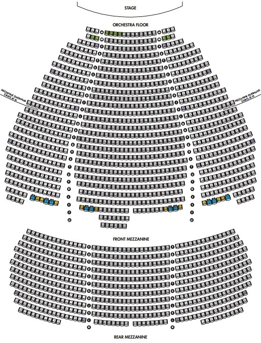 Marquis Theatre Seating Plan NewYorkTheaterGuide