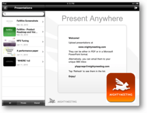 Mighty Meeting for iPad screenshot