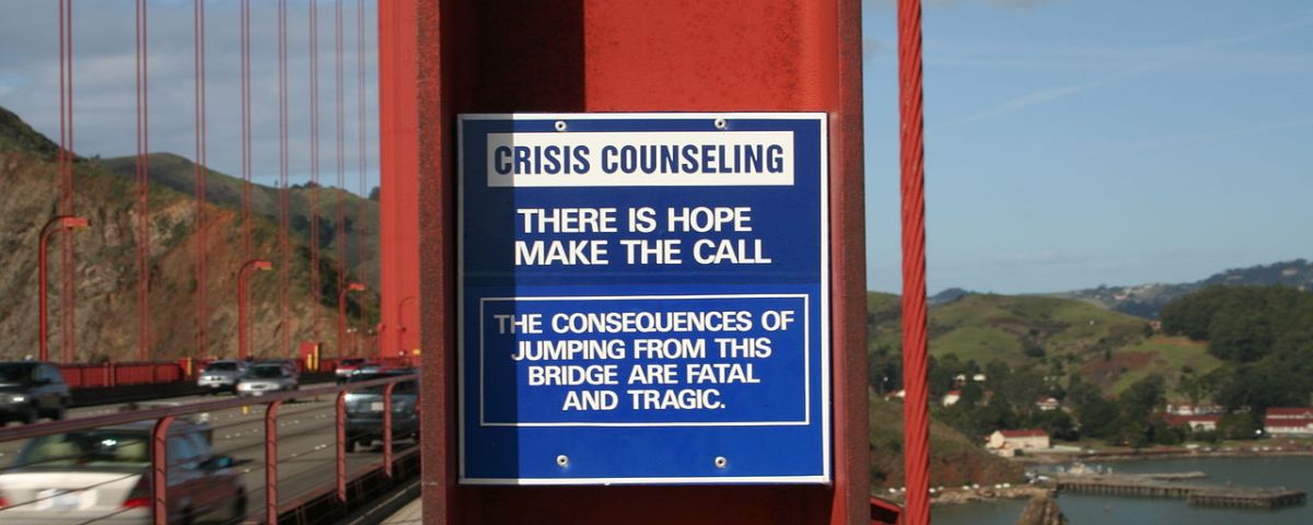 Golden Gate suicidio