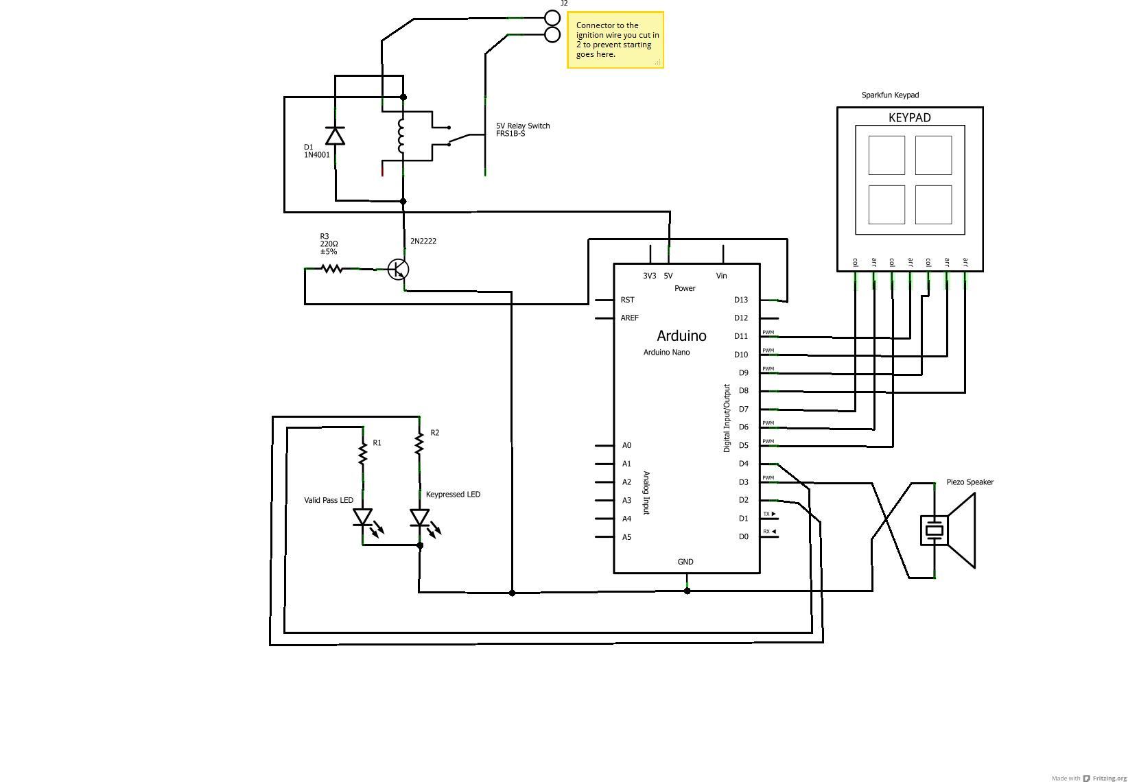 bluetooth headset circuit diagram