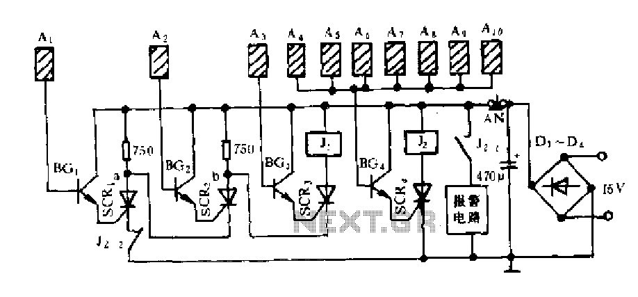negative auxiliary voltage
