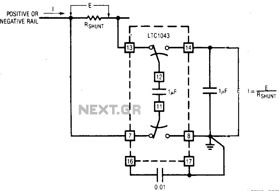 rail detect voltage 8211 led circuit