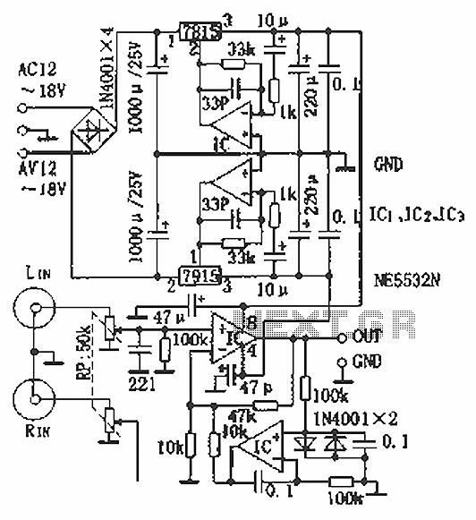 hi fi headphone amplifier circuit