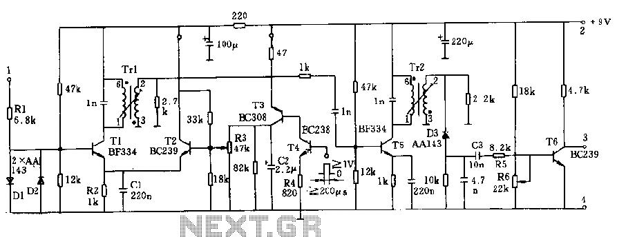 link ultrasonicdistancemetercircuitleddisplayparkingsensorrar