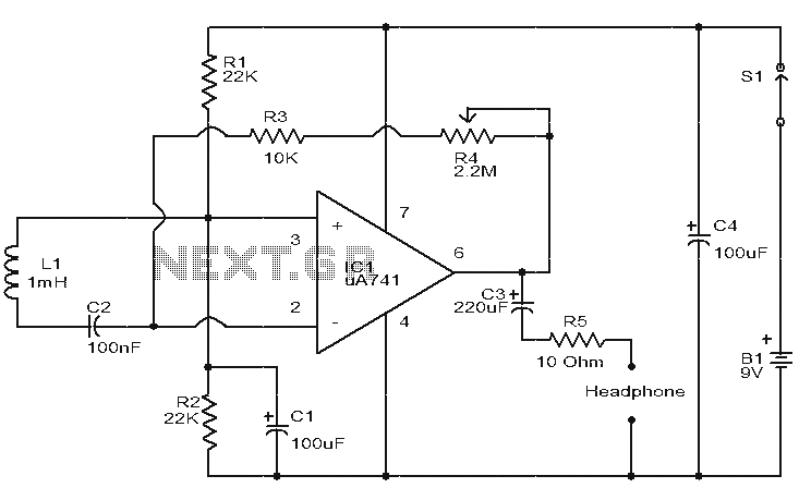 simple phase failure relay diagram