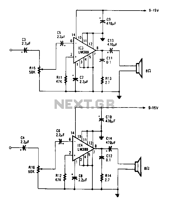 audio detector and switching circuit