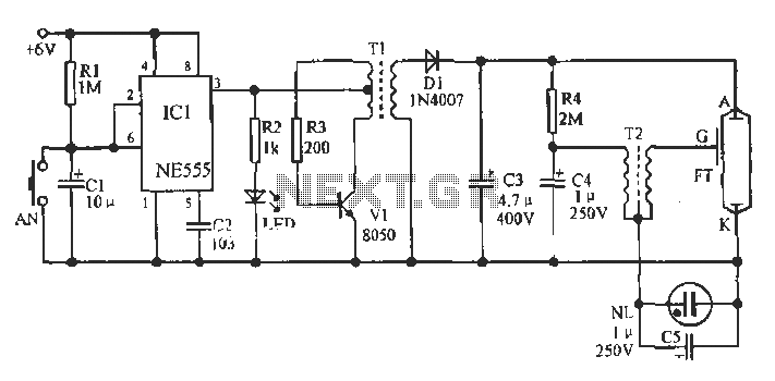 metal detectors projects and circuits 4