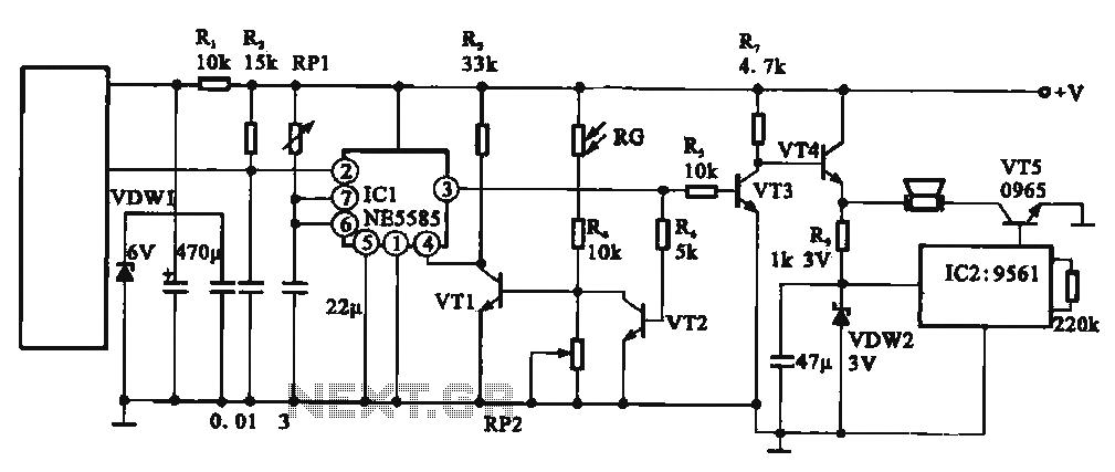 automatic low power emergancy light