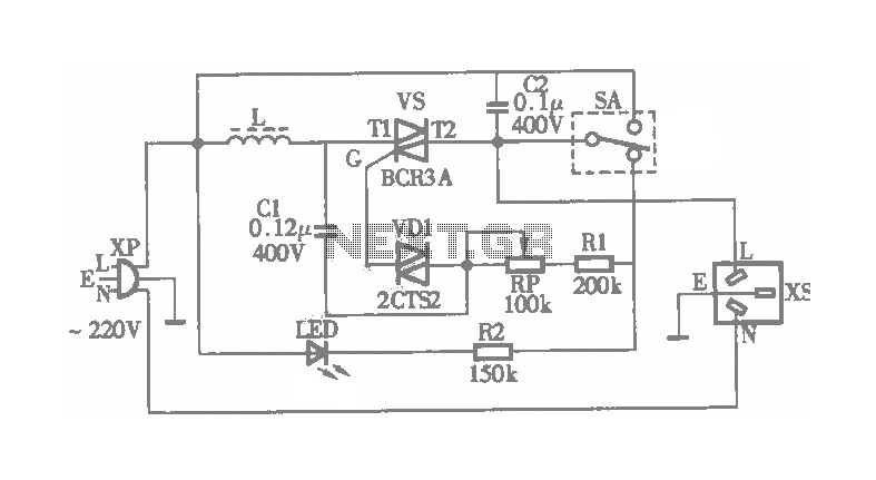 electric rice cooker circuit diagram electronic circuits on