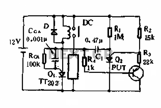alarm circuit for water level display