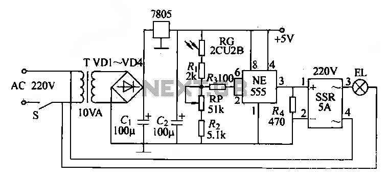 light detection using a phototransistor and voltage comparator