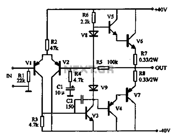 figure 1 audio detector and switching circuit