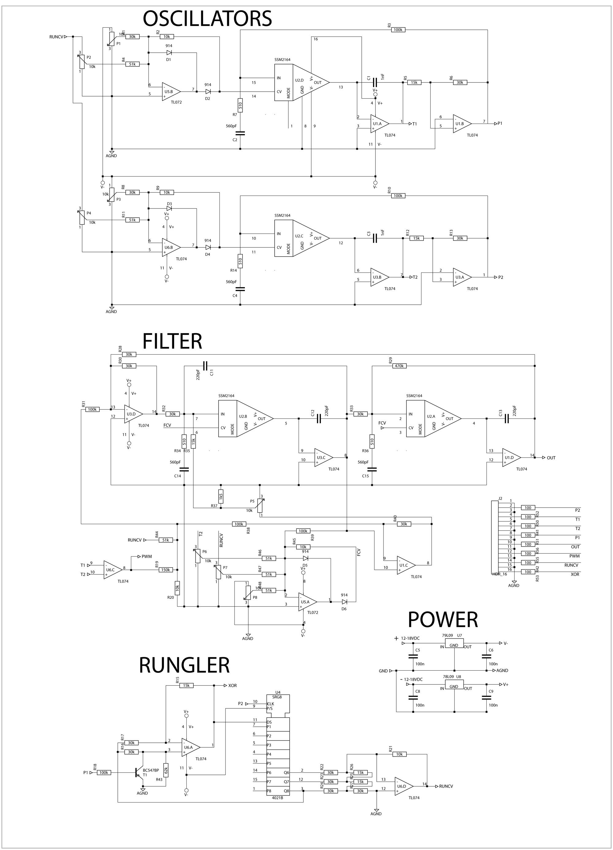 3 wire strain gauge schematic