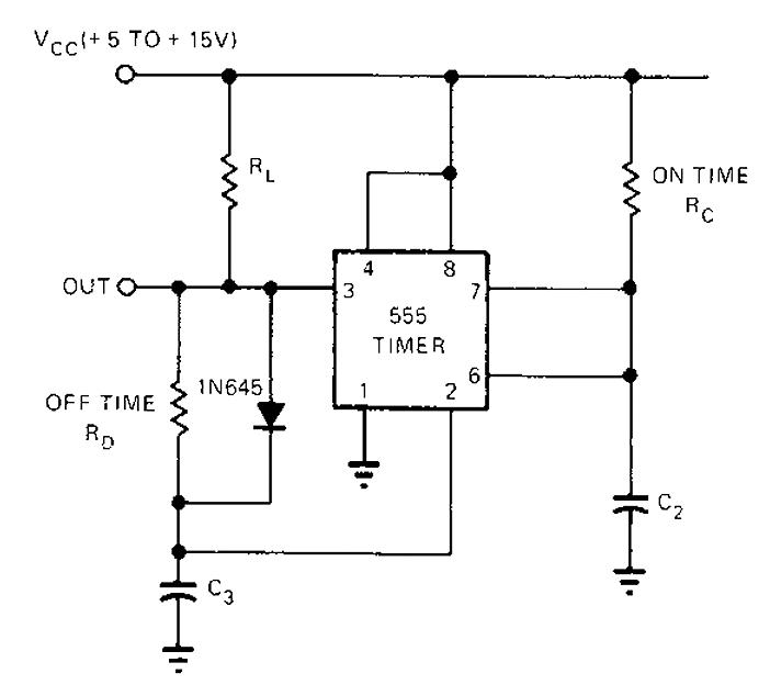 555 oscillator circuit
