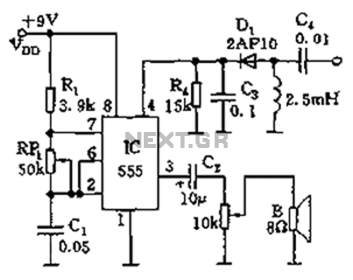audio oscillator schematic diagram