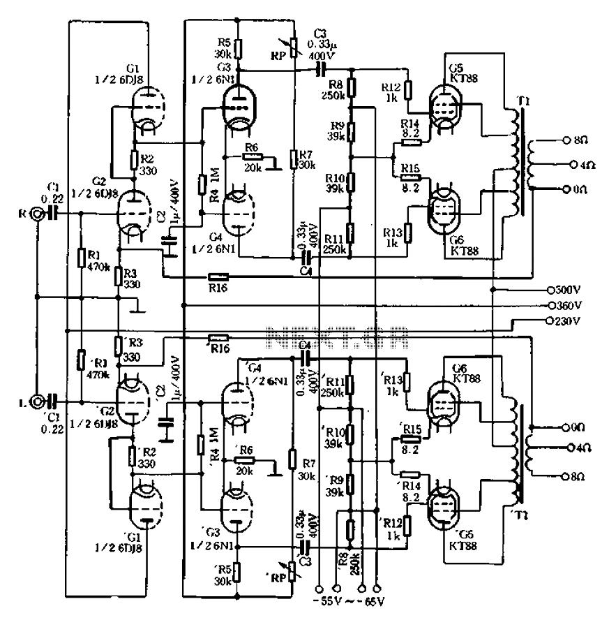 hi fi valve amplifier