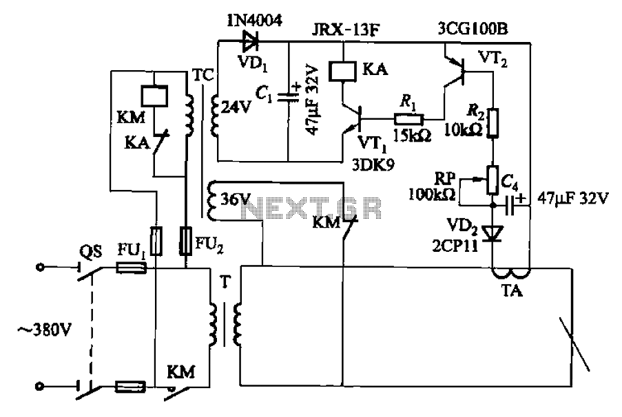 circuit diagram electric arc welding machine