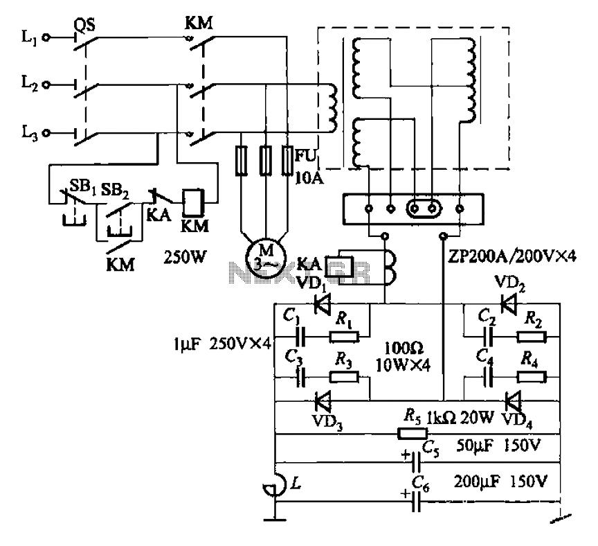 ac arc welding machine circuit diagram