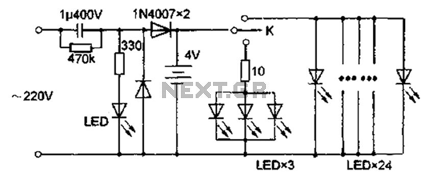 Led Circuit Page 3 Light Laser Led Circuits Nextgr
