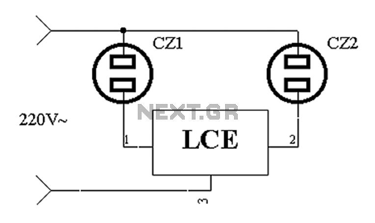 tv antenna amplification circuit amplifier circuit circuit diagram