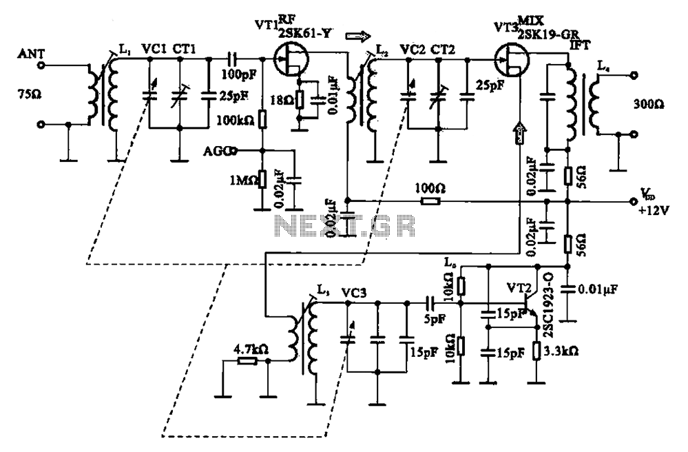 radio tuning circuit