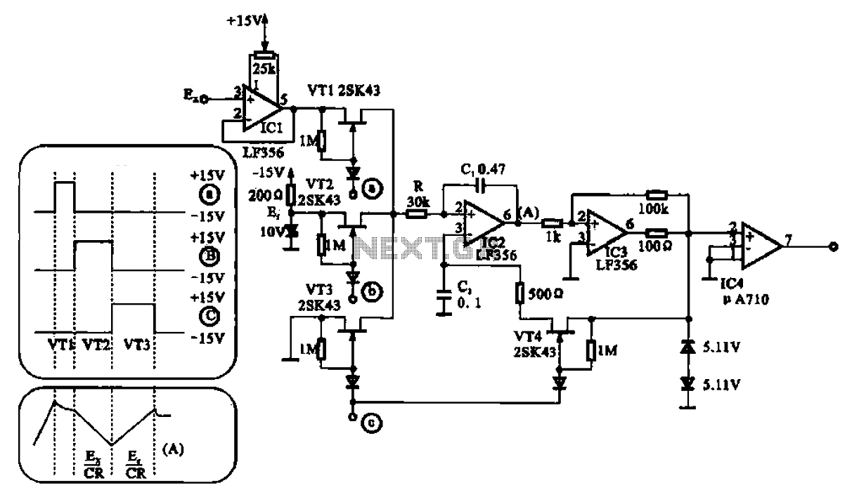audio a d converter circuit configuration the circuit cs5333 chip