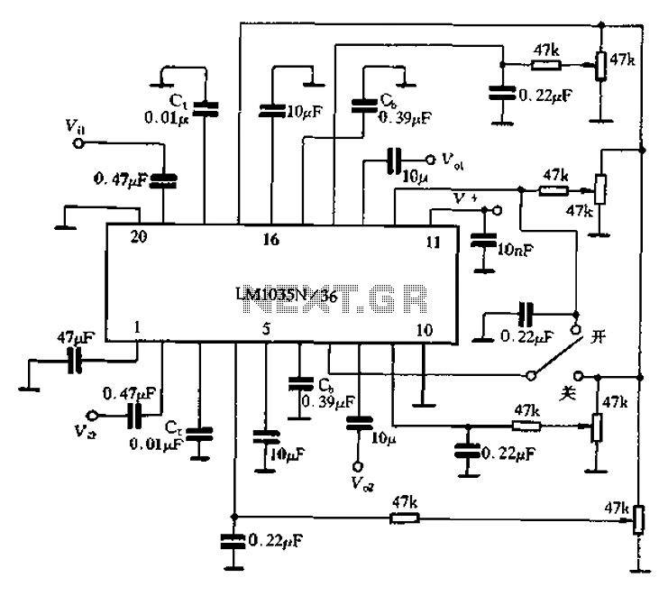 circuits with capacitors