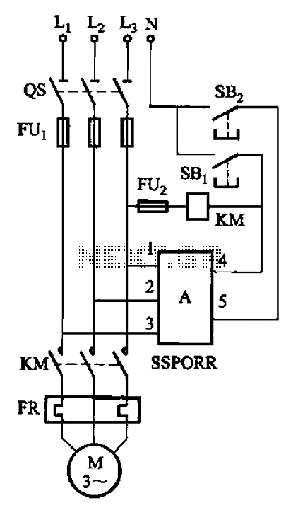 three phase solid state relay circuit diagram