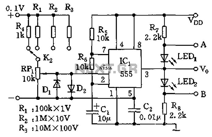 christmas lights display circuit diagram