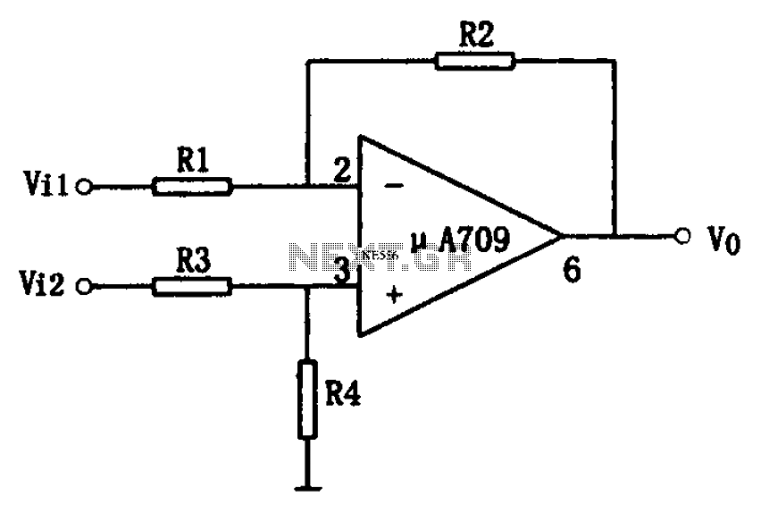 simple transceiver circuit diagram