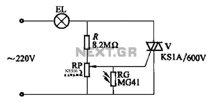 fully automatic emergency light circuit diagram