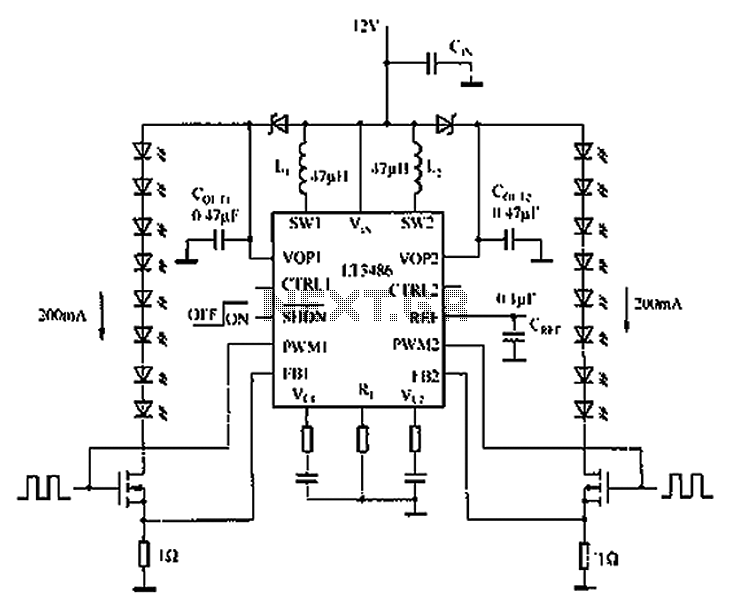 cheap led driver circuit