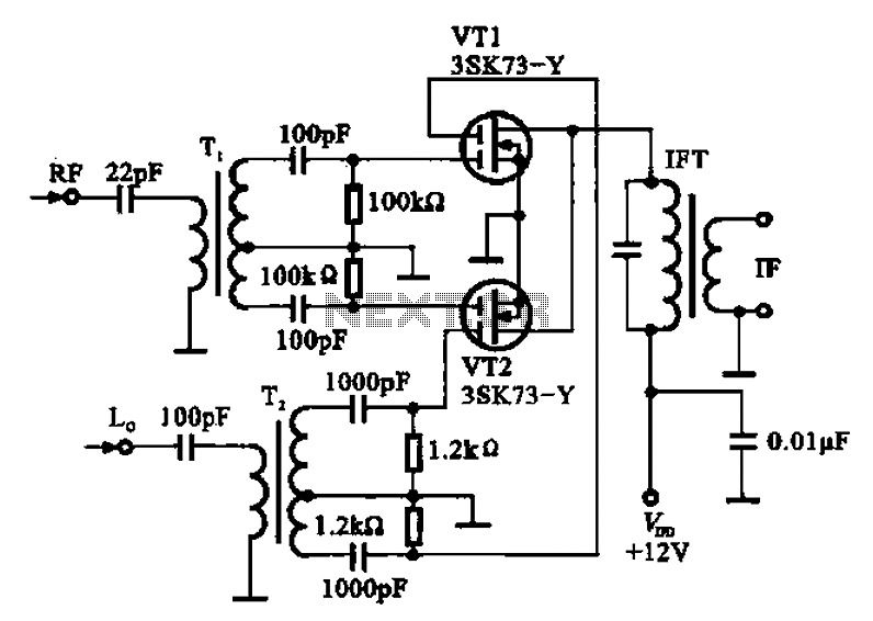 small transistor amplifier ideals schematic