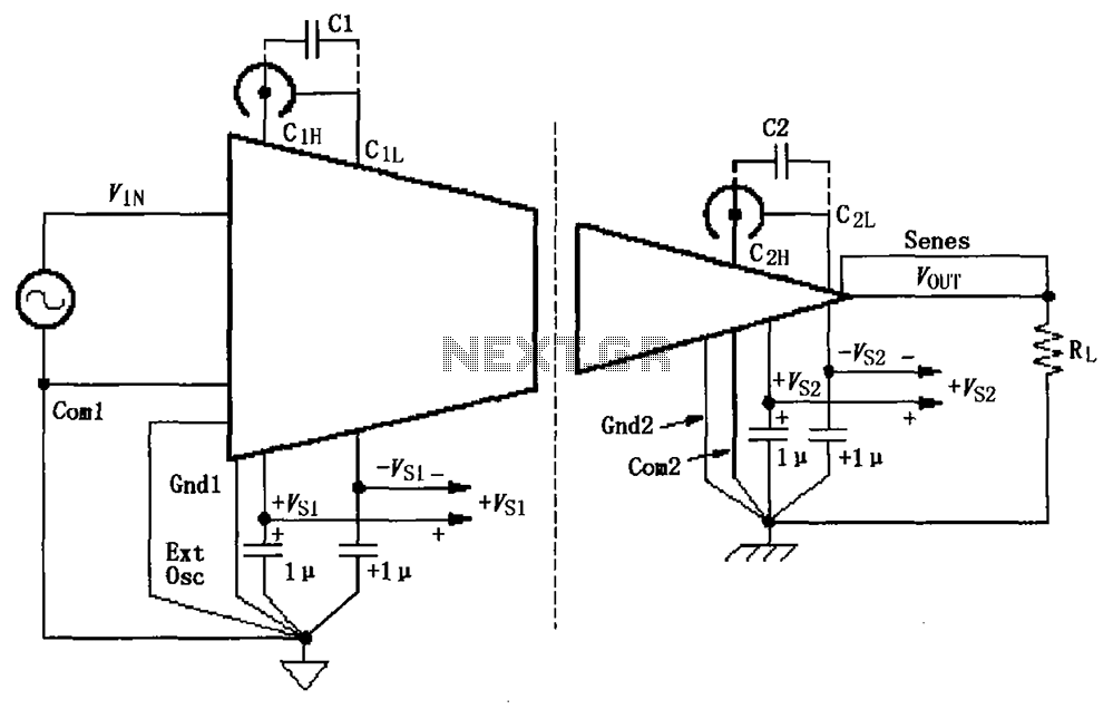 signal and power supply basic connection circuit othercircuit