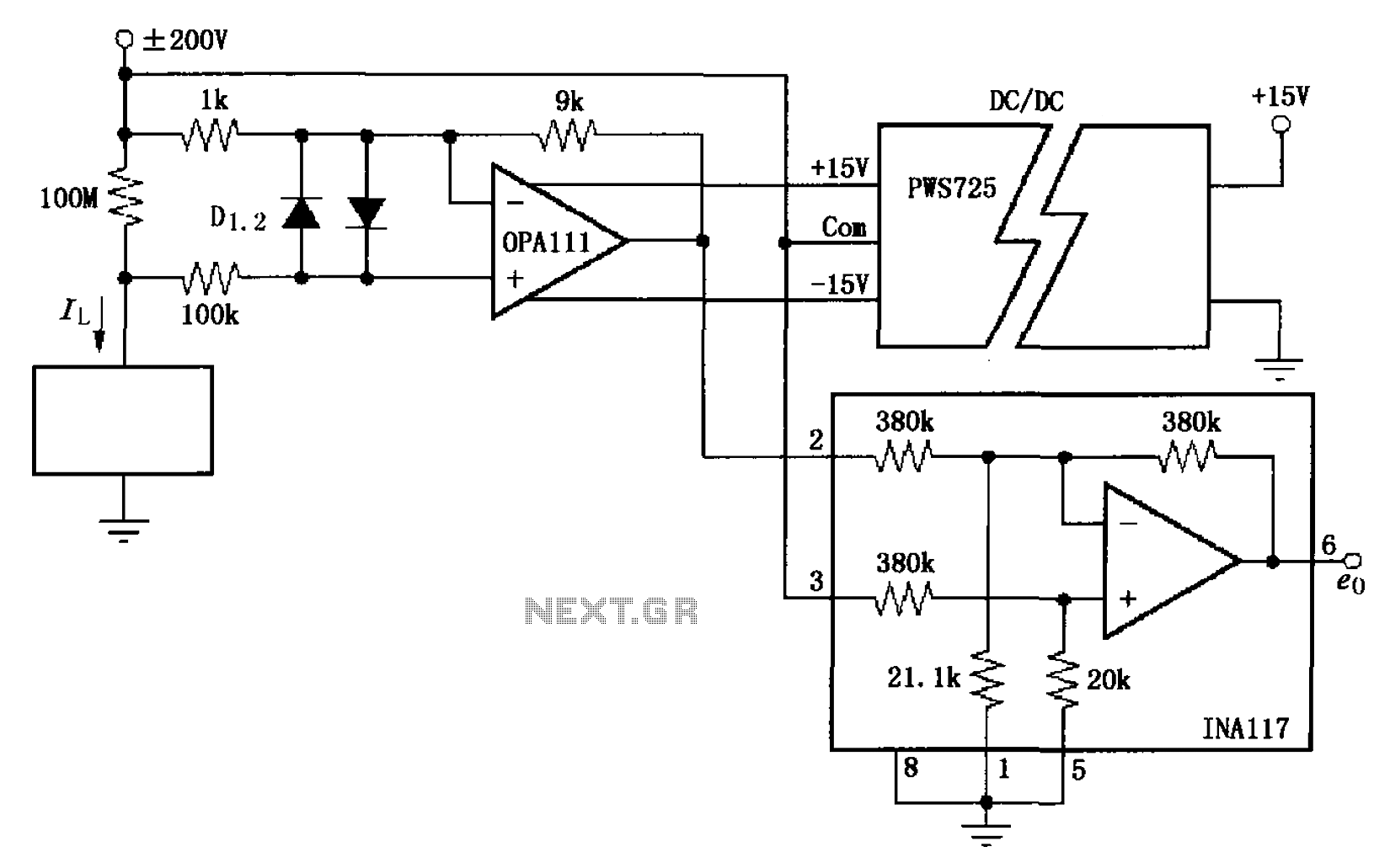 led optical power measurement shortcircuit current opencircuit