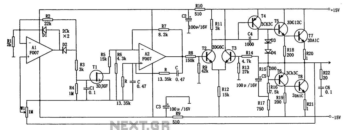 rf radio frequency circuits sensors and detectors electronics