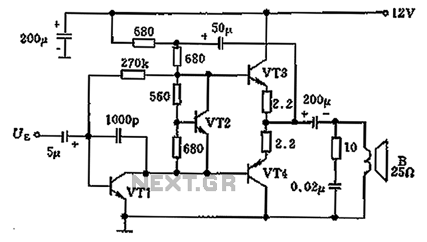 circuit diagram for 12v led