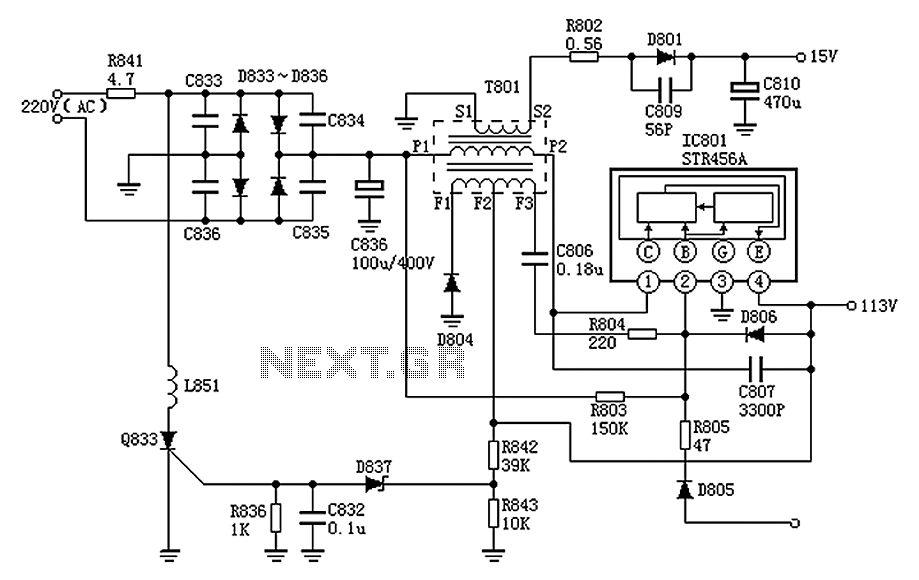 switching power supply page 3 power supply circuits nextgr
