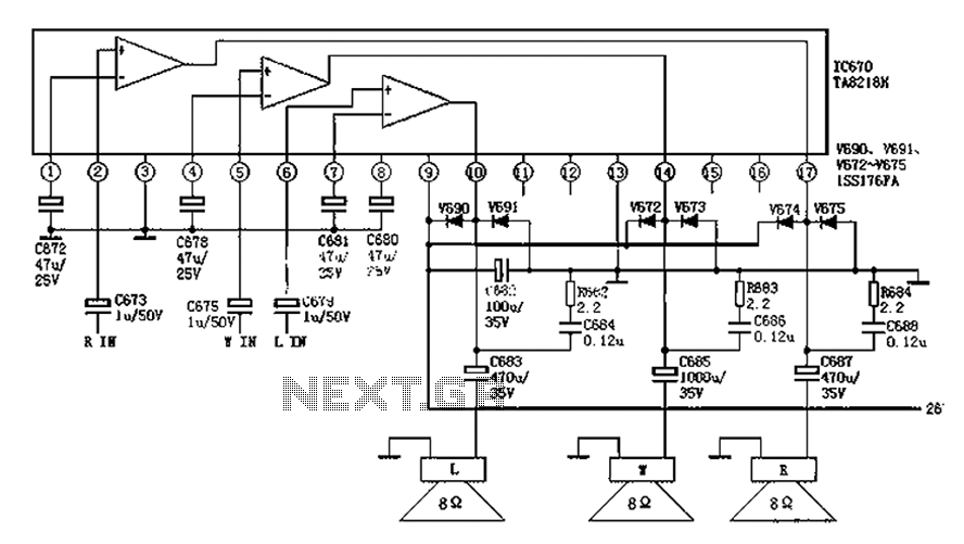 in fig to eliminate hum instrument amplifier circuit fig amplifier