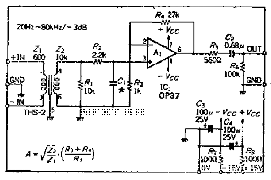 lm389 low power audio amplifier