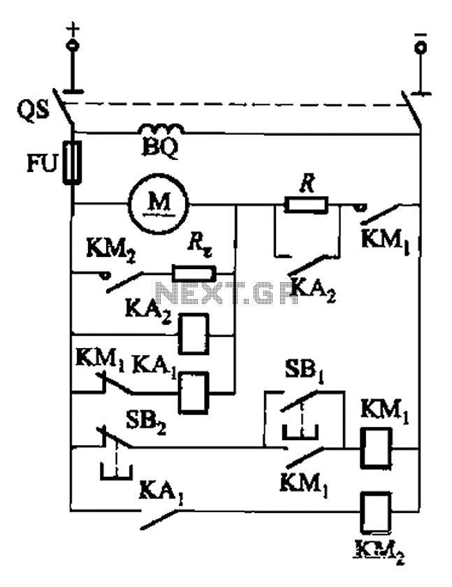 dc motor dynamic braking circuit
